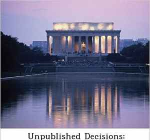 Unpublished Decisions: Appropriations and Miscellaneous, Vol. XXVII, No. 4