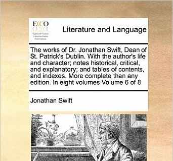 the life and works of jonathan swift
